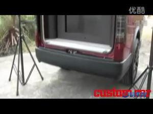 丰田海狮改装DJ车