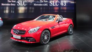 北美车展 新款奔驰SLC级