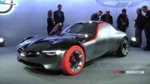 Opel GT概念车亮相
