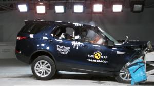 路虎发现E-NCAP碰撞测试