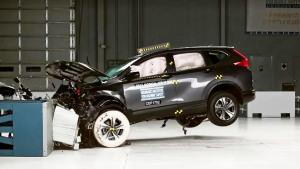2017款CR-V 美国IIHS碰撞