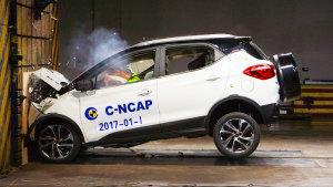 C-NCAP 比亚迪元获5星