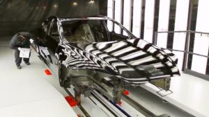 特斯拉Model S生产过程曝光