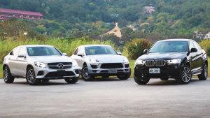 BMW X4/奔驰GLC/Macan大战