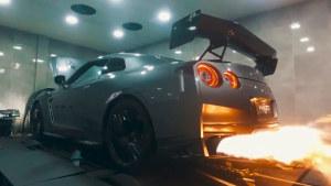 2017款日产GT-R改装排气