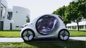 Smart Vision EQ 自主驾驶