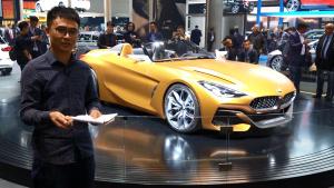 全新宝马Z4概念车实拍