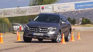 2017款奔驰GLA麋鹿测试