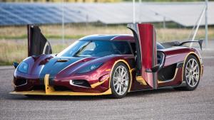 科尼赛克Agera RS破纪录