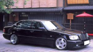 """奔驰S级W140 """"虎头奔"""""""