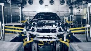 宝马i8 Roadster生产曝光