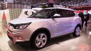小型SUV双龙Tivoli 外观内饰展示