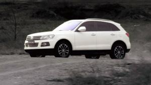 众泰T600霸气SUV 欧洲时尚外观设计