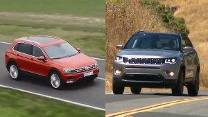 新一代大众途观 对比新款Jeep指南者
