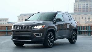 2017款Jeep指南者 采用传统7孔进气格栅