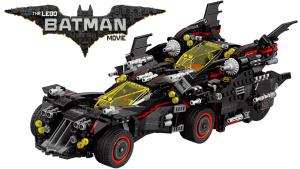 积木叠罗汉 速拼终极四合一蝙蝠战车