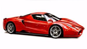 达人快速手绘 传奇车型法拉利Enzo