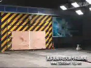 吉利自由舰C-NCAP正面碰撞现场视频