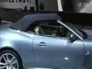 09全新款捷豹XK敞蓬跑车敞篷展示