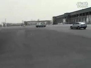 奥迪举办的A4 高级专业驾驶课程