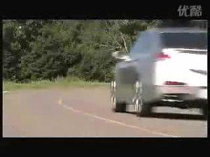 2009款讴歌RL公路行驶测试片段