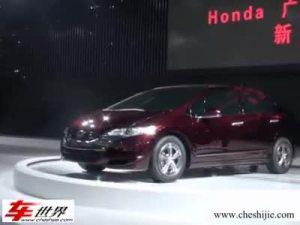 本田燃料电池汽车FCXClarity亮相车展