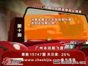 2009年中国汽车风云榜 新嘉年华登场