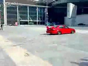 实拍改装版东南汽车菱帅漂移秀