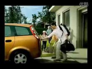 起步停车 满载幸福的家 陆风风尚广告