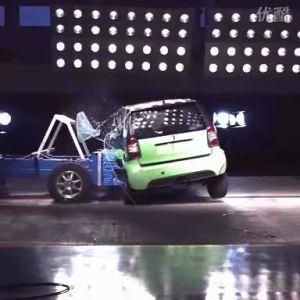 双环汽车小贵族 碰撞实验侧面检测