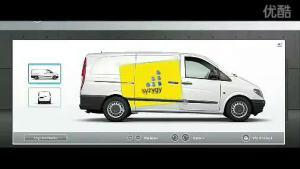 梅赛德斯奔驰VIANO广告 高清网络版