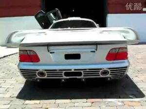街拍价值千万的改装奔驰CLK GTR