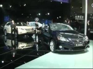 雷克萨斯GX460广州车展全球首发