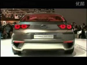 2010北京车展 斯巴鲁HYBRID概念车