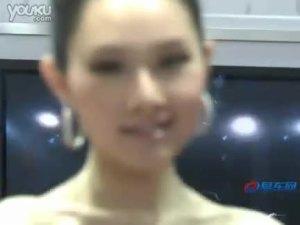 2010北京车展 本田思铂睿大耳车模