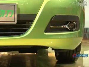 2010北京车展 江淮和悦混合动力车
