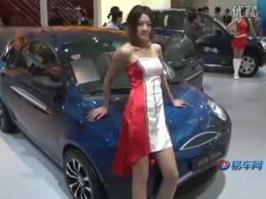 2010北京车展 奇瑞QQme车展亮相