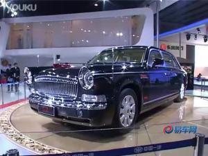 2010广州车展一汽红旗HQE阅兵车