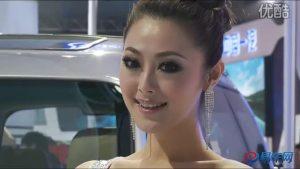 2010广州车展  东风风行菱智靓丽车模