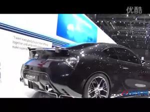 丰田FT-86 II概念车 亮相日内瓦车展