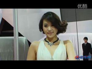 2011上海车展 GMC房车高贵白衣车模