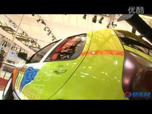2011上海车展 众泰展台Z200HB亮相