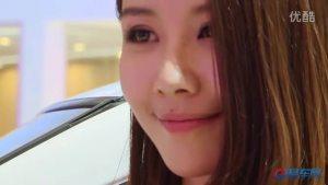 2011上海车展 纯电动车帅客清纯美女