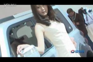 2011上海车展 长城M2模特圆润如玉