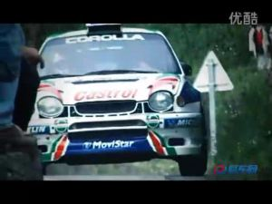 WRC比赛上改装后丰田卡罗拉的身影