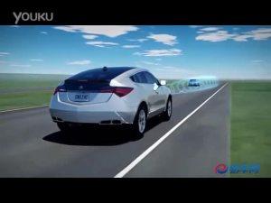 2010款讴歌ZDX碰撞缓解制动系统
