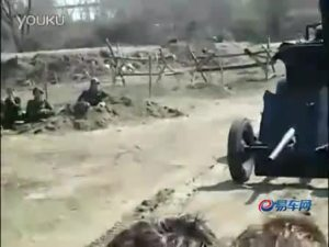 国外活动中展出的德军军用版老爷车霍希