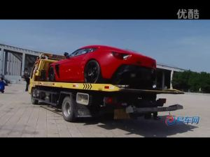 2011广州车展 搬运阿斯顿马丁ZAGATO