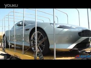 2011广州车展 马丁virage抵达会场