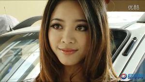 2011广州车展 众泰5008电动版女模